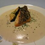 そぷらのシチュー - 魚料理:鯛+えびのスープ