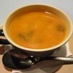 そぷらのシチュー - ムール貝とチーズのスープ
