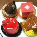 ル・グ・メルヴェイユ - ケーキ4種