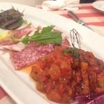 パステリア ダ エンヅォ - コース料理の前菜