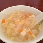 21696480 - ランチのスープ
