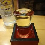 すし遊洛 - 三つ柏 純米吟醸:780円