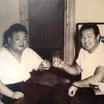 相撲料理 神雷 - 料理写真:神雷オープン時、力道山さんと神雷