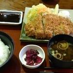 本宮の湯 うまの背 - 穂の国定食(850円)