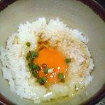 つけ麺 APPLE BASIC - 卵かけご飯