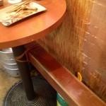串揚げ 立ち呑み処 いこい - 簡易椅子