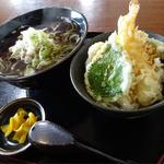 あずまや心菜 - 天丼セット(950円)