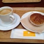 クレーム デ ラ クレーム - コーヒー350円