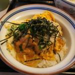 天霧 - 鶏ステーキ丼です!!