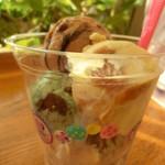 サーティワンアイスクリーム - 「ハッピー・フォー・ユー(4・You)」こちらは奥さんの。420円。