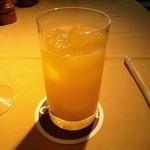 21704884 - フレッシュオレンジジュース(1050円)