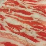 いちなべ家 - 豚肉