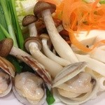 いちなべ家 - キムチ鍋の野菜