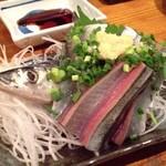 漁竿 - 新さんま刺 950円