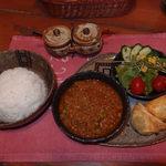壺小屋 - キーマカレー