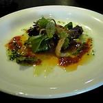 21706673 - 前菜の京都産トマトと生ハムサラダ