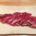塩ホルモンさとう - 豚タン