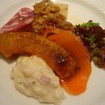 ラ ノッテビアンカ - Cセットの前菜