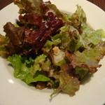 ラ ノッテビアンカ - ランチセットのサラダ