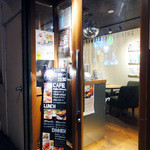 kawara CAFE&DINING - 入り口