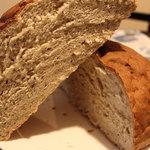 我楽房 - ぼくたんパン断面図