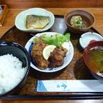 金水寿司 - 料理写真:ハーフ&ハーフ 日替わりランチ(750円)※日曜日はランチなし