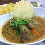 スパイススマイル - ビーフ野菜スープカレー(豆乳ベース)