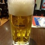 龍 刀削麵 - 生ビール