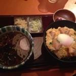 高田屋 - 親子丼セット