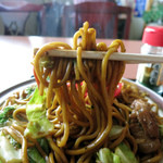 千久満食堂 - 料理写真:もっちりした太麺が2玉も