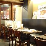 ひな鶏唐揚 新次郎 - 早い時間の入店だったので、他のお客さんが来られる前にちょっと撮影させてもらいました。