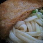 上乃うどん - 麺アップ