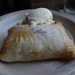 ジャンゴ - 熱々のアップルパイ☆冷たいアイスクリームとピッタリ