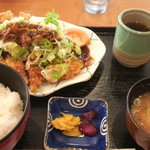 2172002 - 手打ちとんかつ(三河豚) 味噌&おろしポン酢