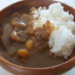 サティスフェイ - 料理写真:カレーライス600円