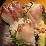 魚屋さんじゅうまる - お刺身三種盛り