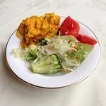 カトレア - パンプキンサラダが男前なサラダ。
