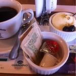 cafe GIARDINO pizzeria - ミニドルチェ+コーヒー