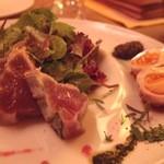 ボングウ・ノウ - Sep, 2013 カツオと味噌漬け卵を。