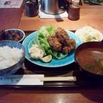 らく万 - 牡蠣フライ定食.jpg