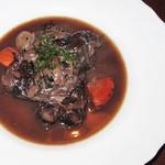 バー ココン - コース料理「牛肉の赤ワインとろとろ煮込み」