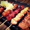 花火 - 料理写真:串焼き(牛ホルモン、牛ほほ、牛レバー、豚ほほ、豚ハラミ、豚トロ)各150円〜