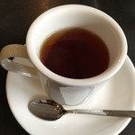四ツ橋カフェ - ホットティストレートをいただきました。
