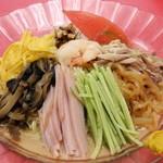 中華料理 津園 - 冷し中華 ¥850
