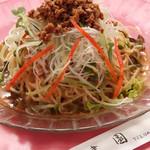 中華料理 津園 - 冷し担担麺 ¥850
