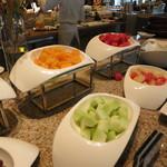 インターコンチネンタルホテル大阪 - 果物のコーナー。