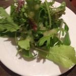 boji - 大山鶏のランチについてきたサラダ