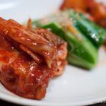 焼肉チャンピオン - キムチ盛合せ