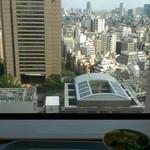 スカイラウンジ暁 - スカイラウンジ暁 (師弟食堂) @明治大学 リバティタワー 17階からの景色を長めながらカレーランチ