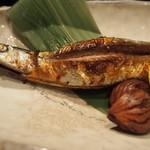 21725898 - 秋刀魚と栗焼きアップ.jpg